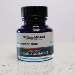 William Mitchell Ultramarine Blue Gouache