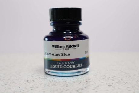 William Mitchell Ultramarine Blue Gouache