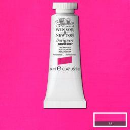 winsor newton gouache opera pink