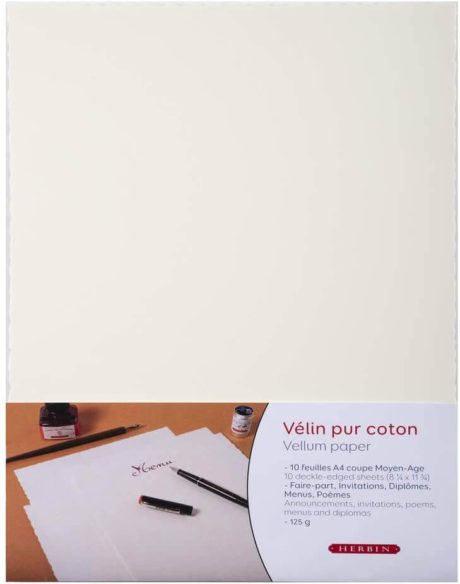 herbin velum paper